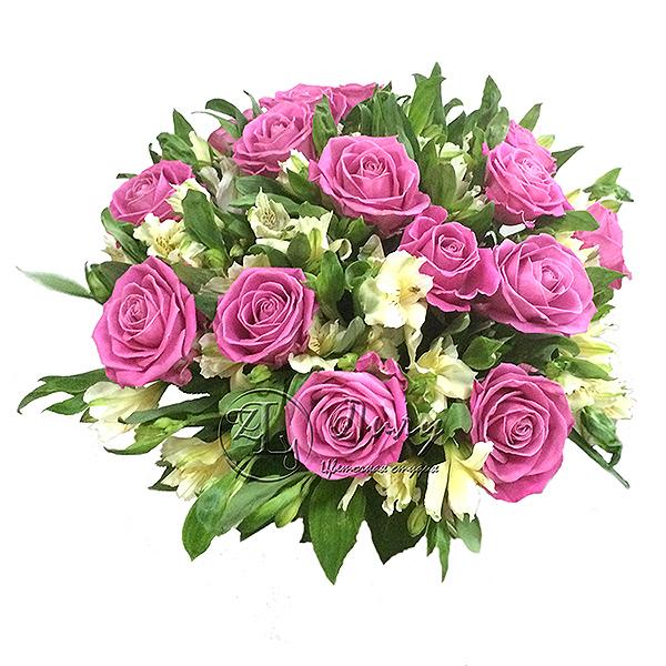 Букет на 14 февраля (День святого Валентина)