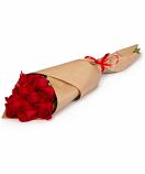 Розы в крафте